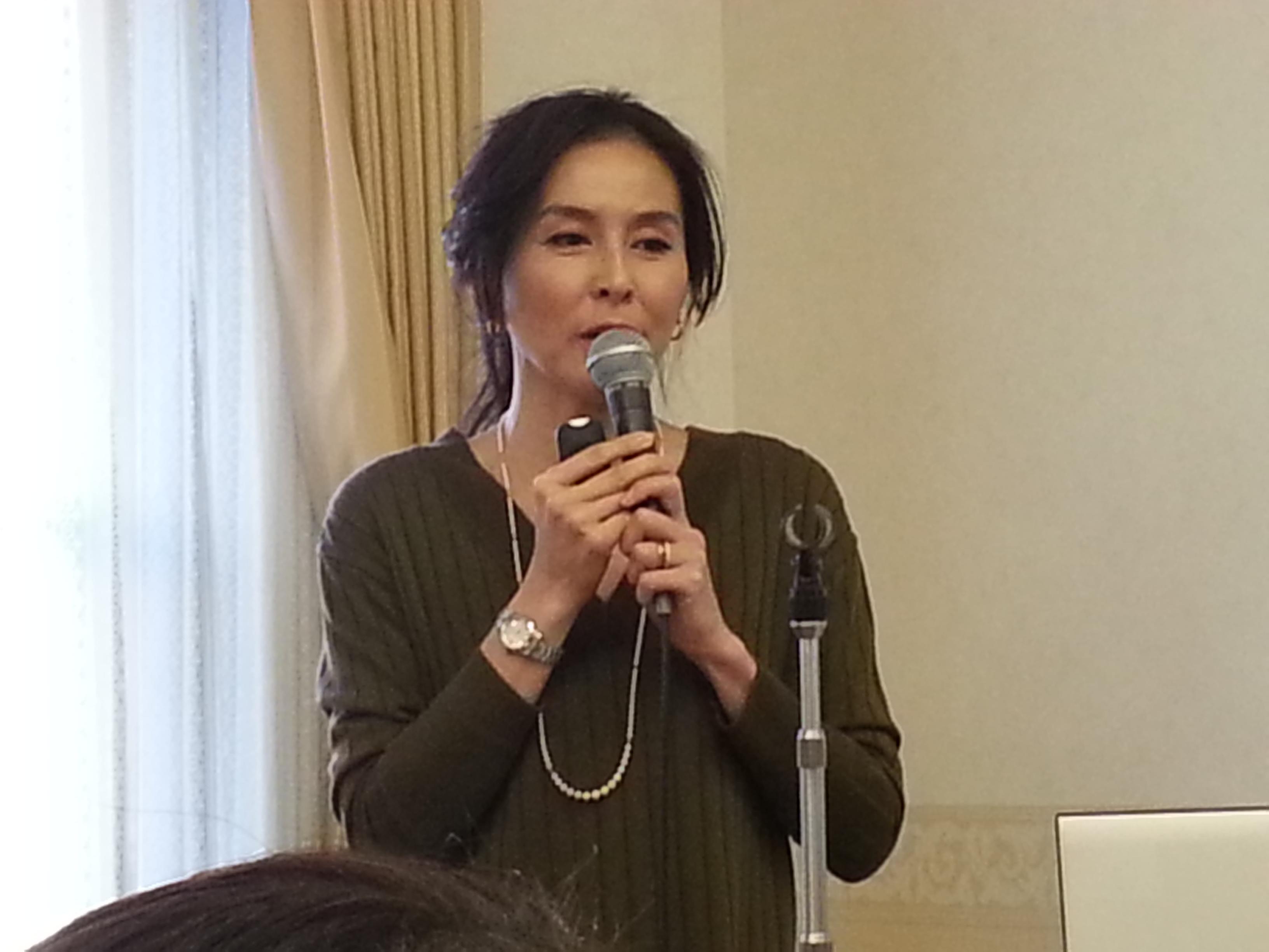 杉本彩氏が講演、第9回エシカル朝食会開催