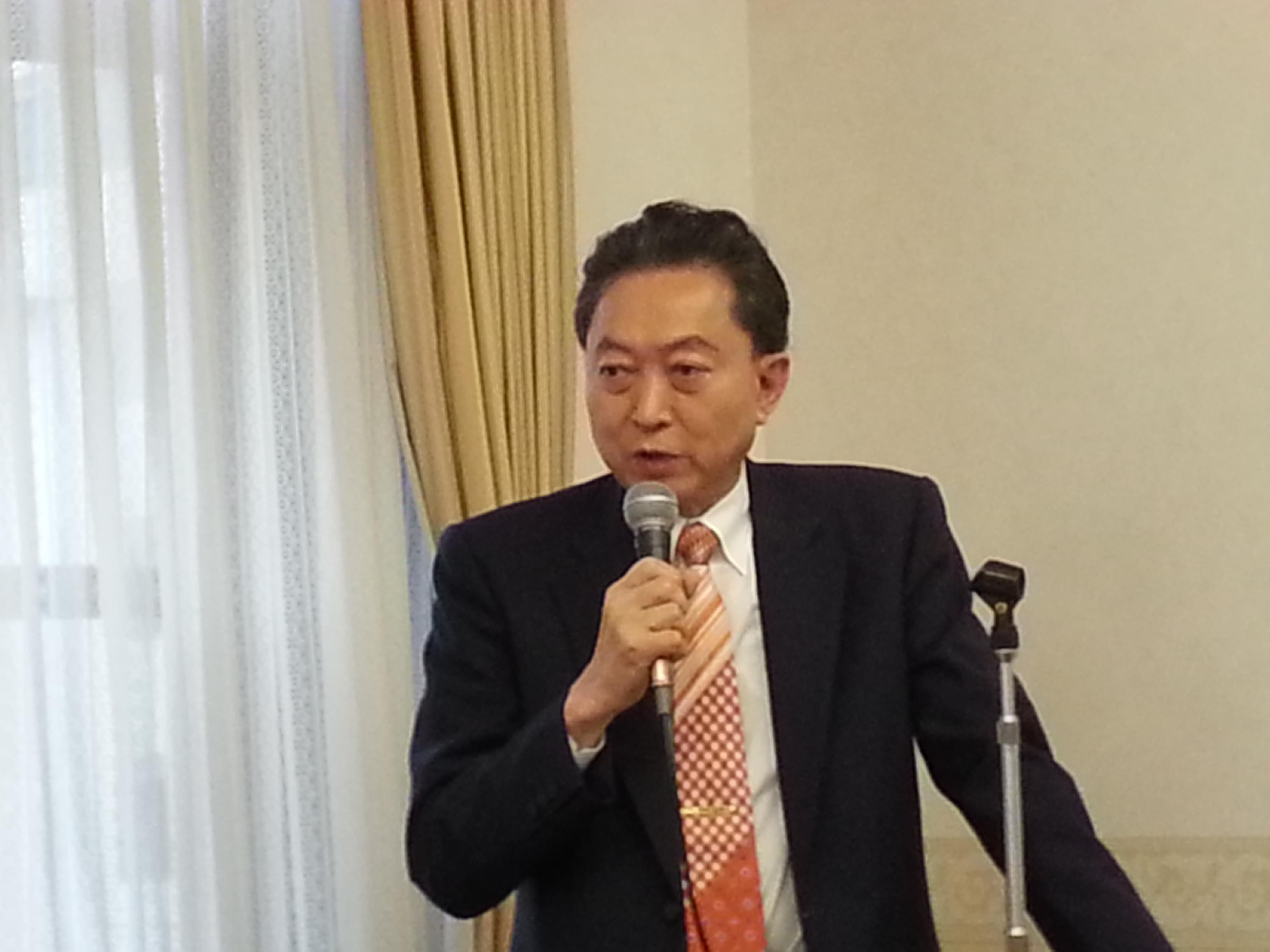 鳩山友紀夫元首相が講演、  第13回エシカル朝食会開催